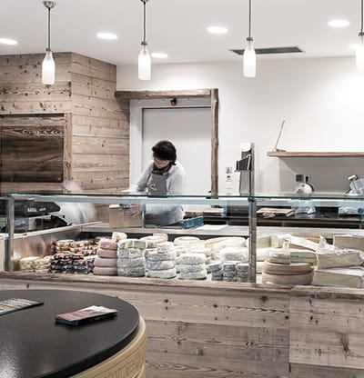 Une fromagerie